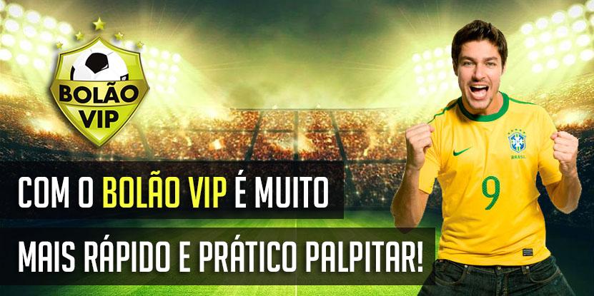 Bolão Vip -  Maior Site de Bolões Online de Futebol do Mundo!